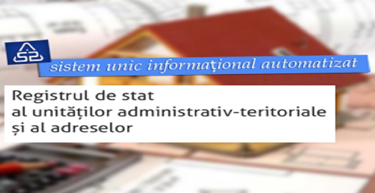 Toate adresele înregistrate în Republica Moldova vor fi disponibile într-un Registru online