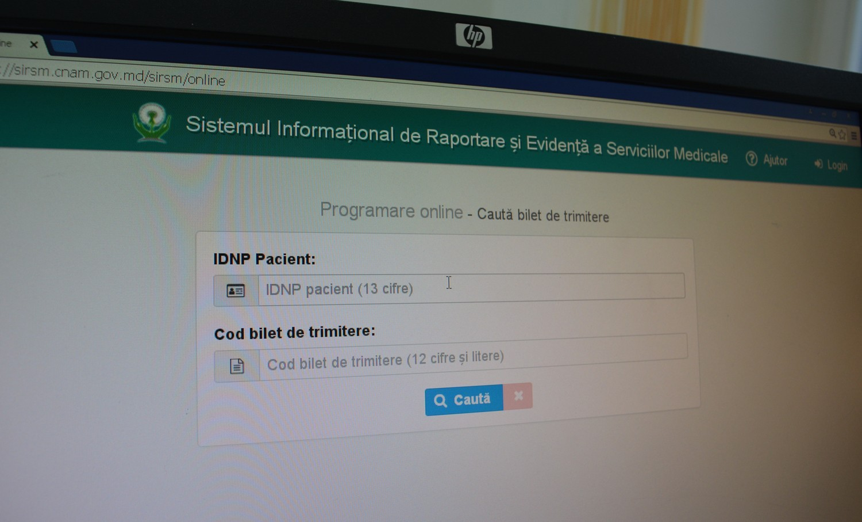 Cetățenii vor putea face programări online la serviciile medicale prin libera alegere a prestatorului