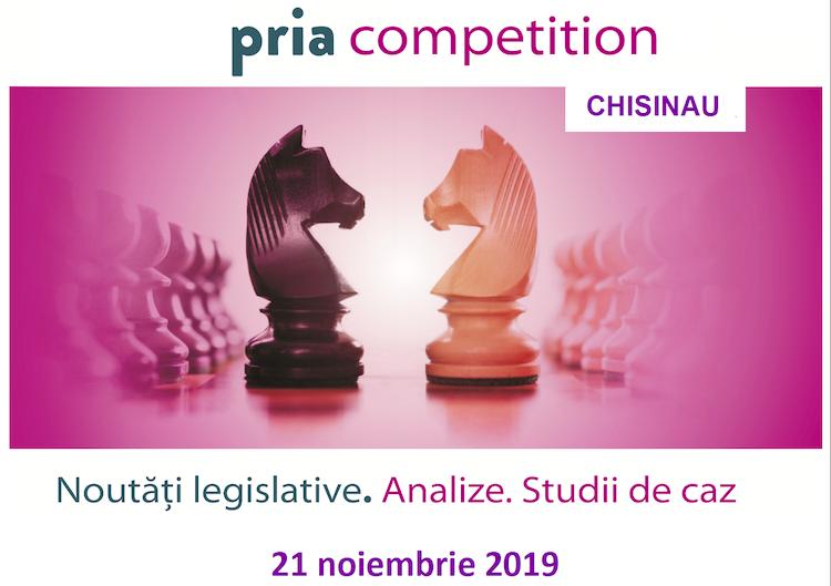 Chișinăul este în premieră gazda celei mai importante conferințe dedicate concurenței – PRIA Competition Chișinău