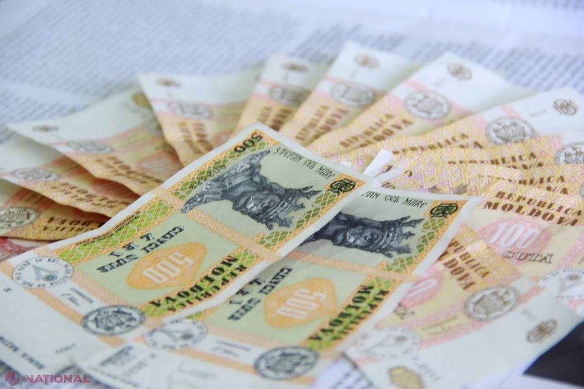 Cuantumul salariului mediu lunar pe economie, prognozat pentru anul 2020, în creștere cu circa 1.000 lei