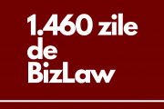 """Patru ani de BizLaw: Chiar dacă este ziua noastră, vă spunem vouă, cititorilor noștri, """"La mulți ani!"""""""