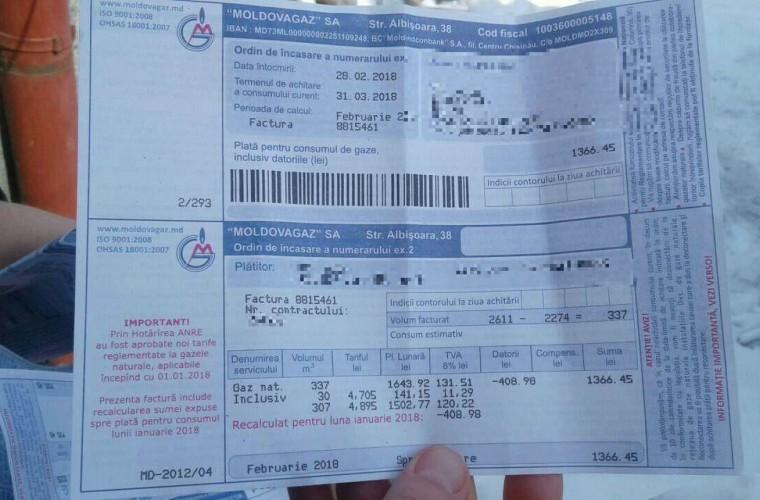Moldovagaz vs. ANRE. Furnizorul de gaze naturale spune că nu va recalcula tarifele aplicate la începutul anului 2018