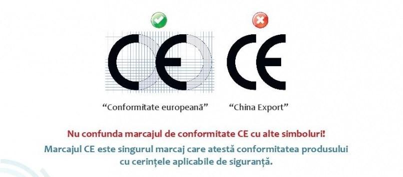Marcajul CE de conformitate aplicabil și în Republica Moldova