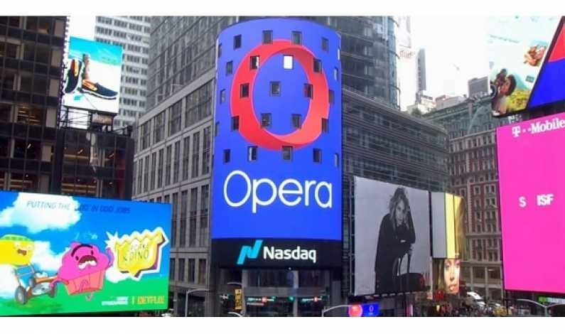 Browser-ul Opera, deținut de chinezi, cumpără o bancă fintech din Lituania