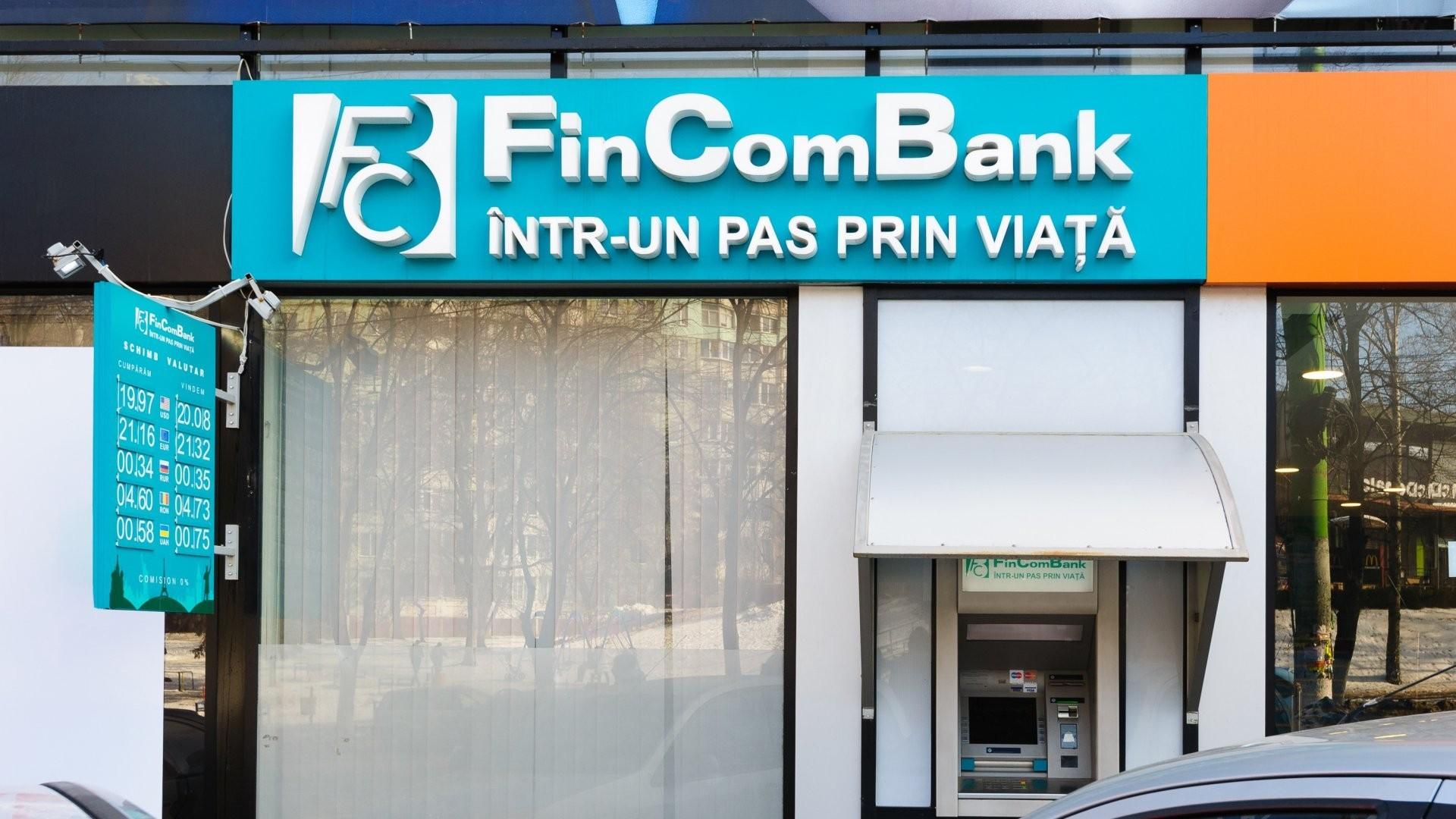 Acțiuni ale FinComBank, vândute la Bursă cu peste 2 milioane de lei