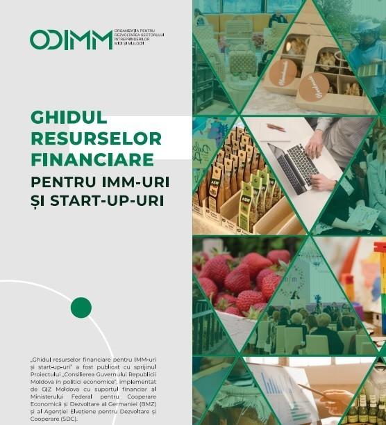"""A fost lansat """"Ghidul resurselor financiare pentru IMM-uri și startup-uri"""""""