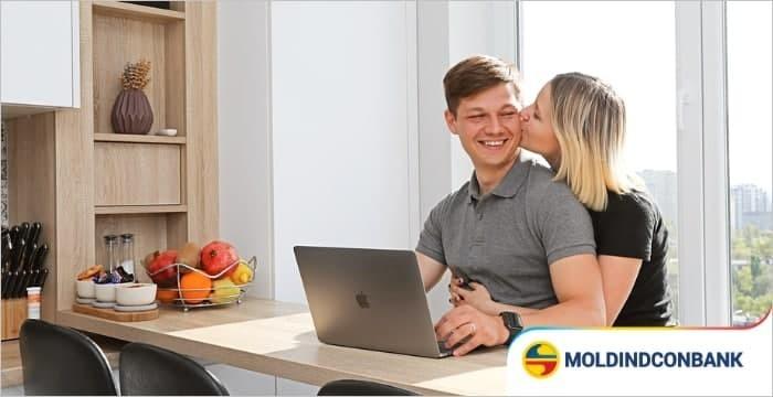 Moldindconbank: Tineri însurăței din Chișinău și-au luat apartament cu un credit ipotecar