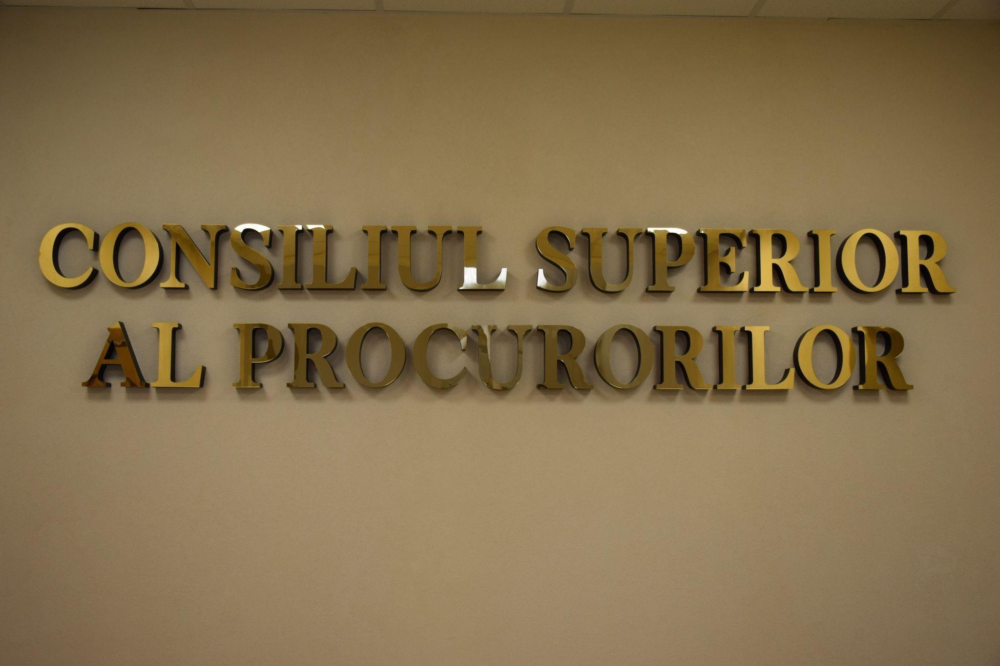 Consiliul Superior al Procurorilor a anunțat concurs pentru cinci posturi de procuror-șef