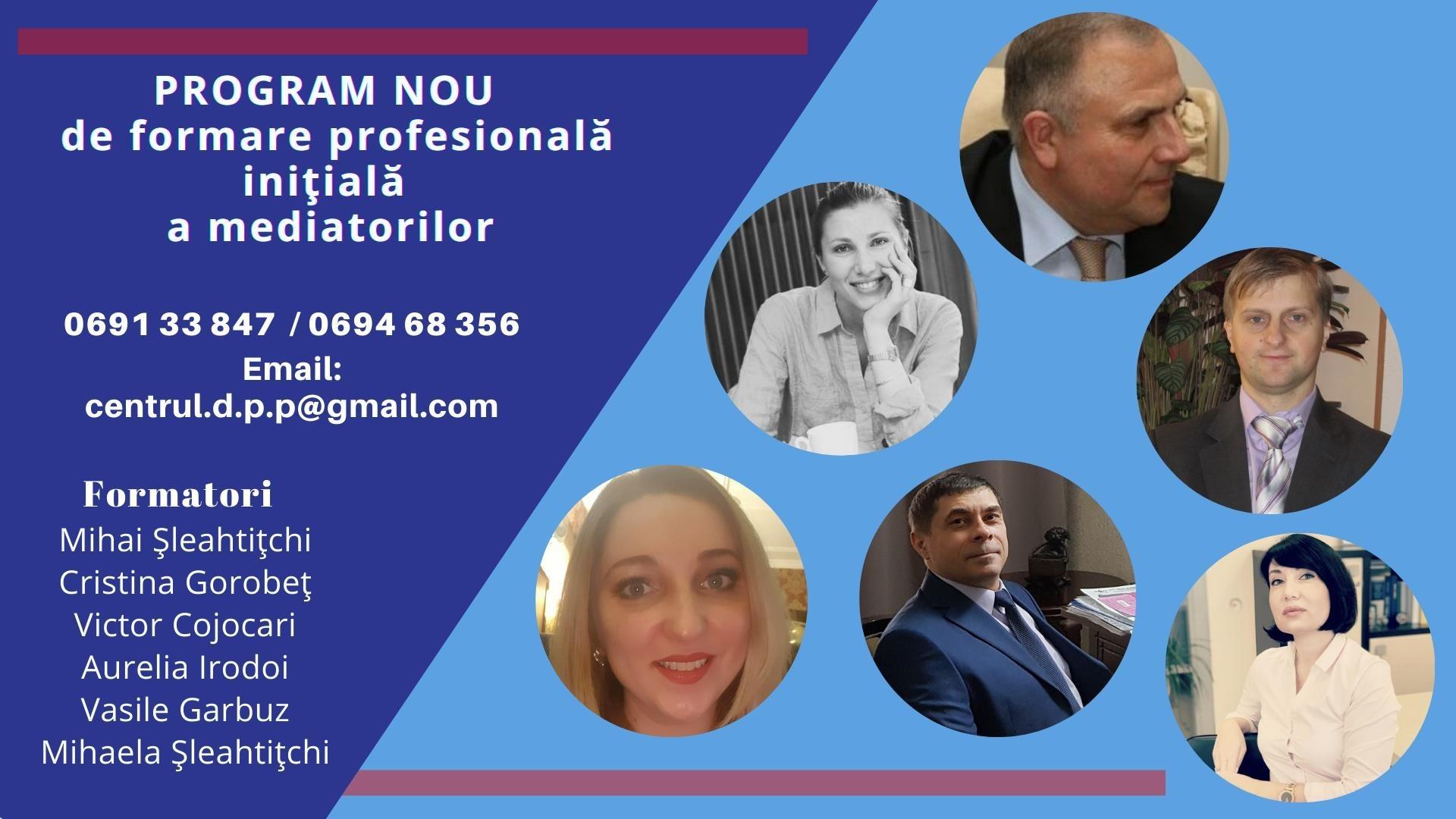 Un nou program online de formare profesională a mediatorilor. Cine vor fi formatorii