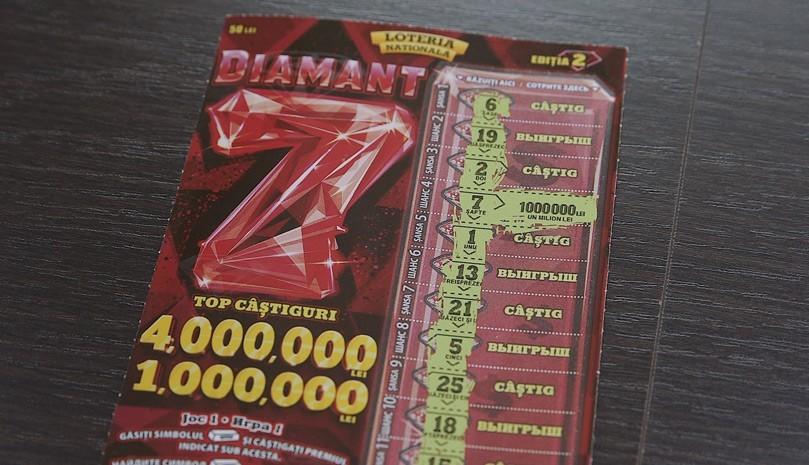 """O femeie din Fălești a devenit milionară cu biletul """"Șeptarul de diamant"""", ediția a doua"""