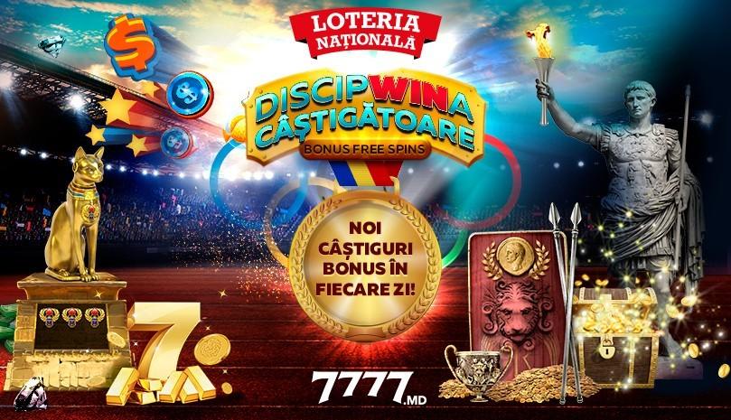 Un challenge nou cu multe daruri pe 7777.md – DiscipWINa câștigătoare