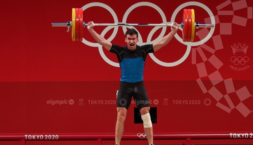 Halterofilul Marin Robu va primi de la NGM Company 50 de mii de lei pentru rezultatele de la olimpiadă