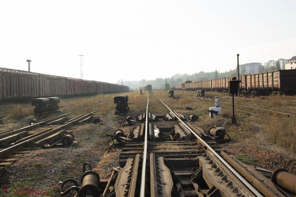 Statul vrea să împartă infrastructura feroviară cu operatori de transport contra unei taxe