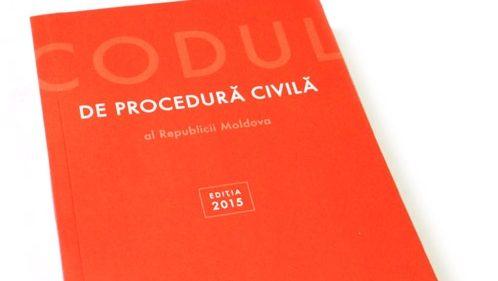 Codul de procedură civilă a fost republicat. Documentul conține ultimele modificări