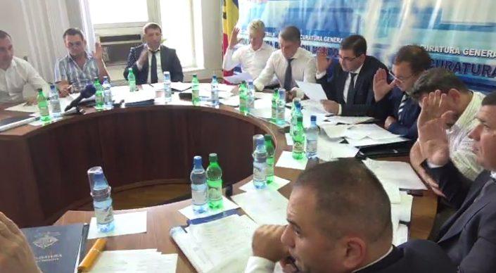 Consiliul Superior al Procurorilor a decis astăzi cine va fi noul procuror-șef al Procuraturii municipiului Chișinău