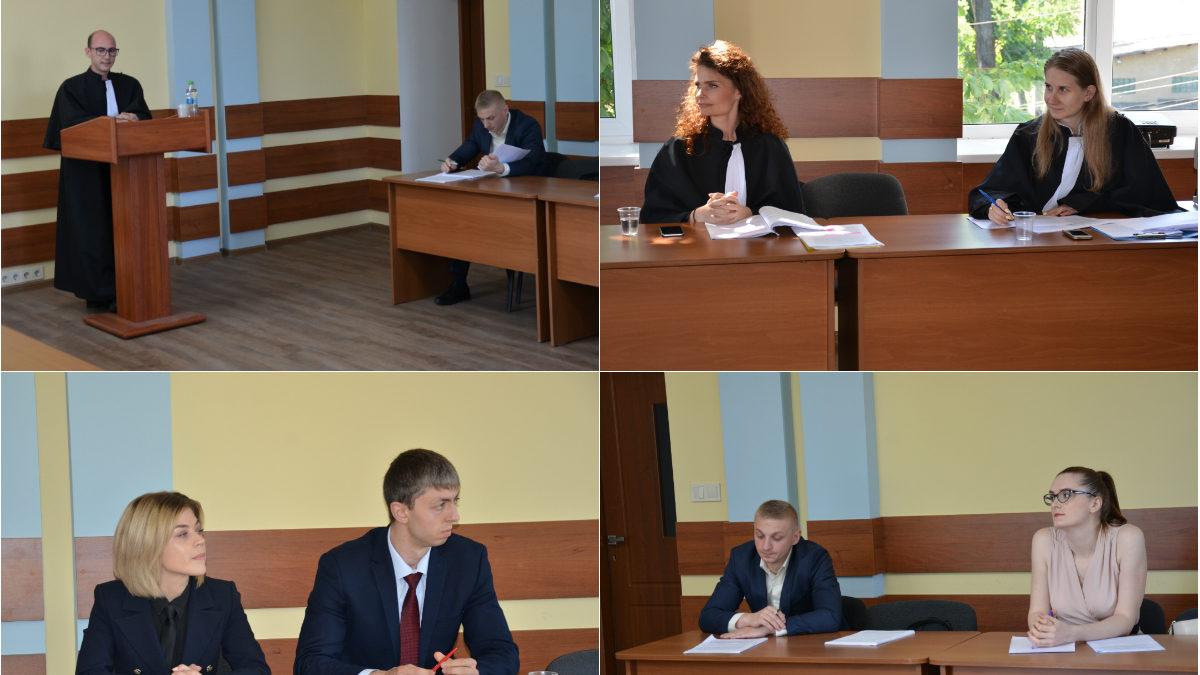 Proces de judecată CtEDO, impovizat la Institutul Național al Justiției. Cum s-au confruntat absolvenții și audienții INJ