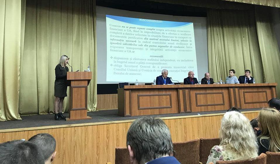 Critici dure la adresa conducerii Uniunii Avocaților. Comisia de cenzori a prezentat un raport pentru ultimii doi ani